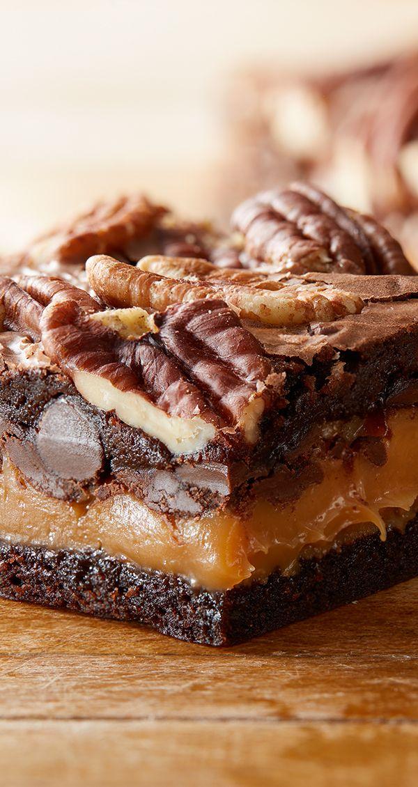 Decadent Brownies Recipe Desserts Brownie Recipes Milk Recipes