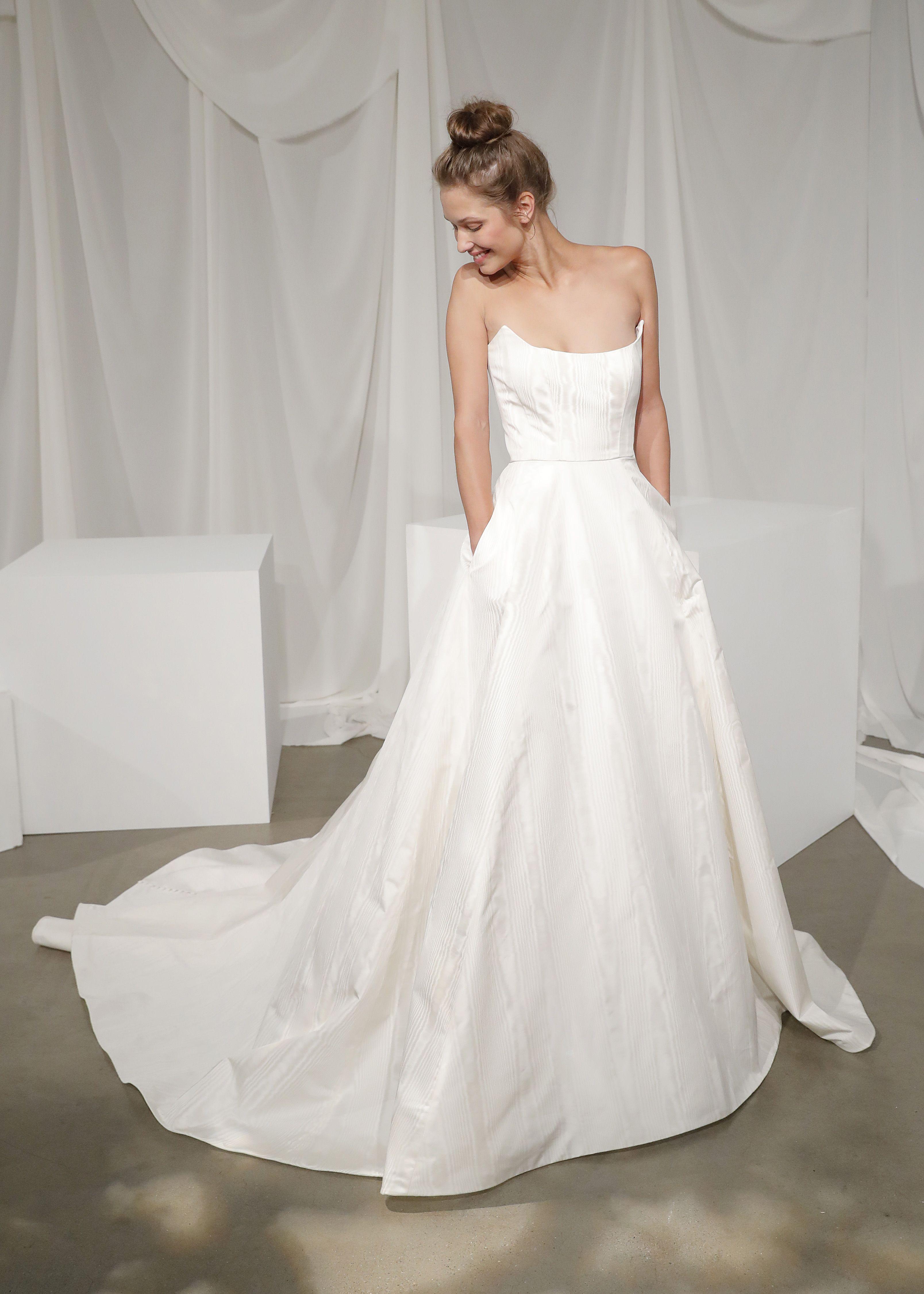 Clotilde By Amsale Amsale Wedding Dress Amsale Bridal Wedding Dresses Unique
