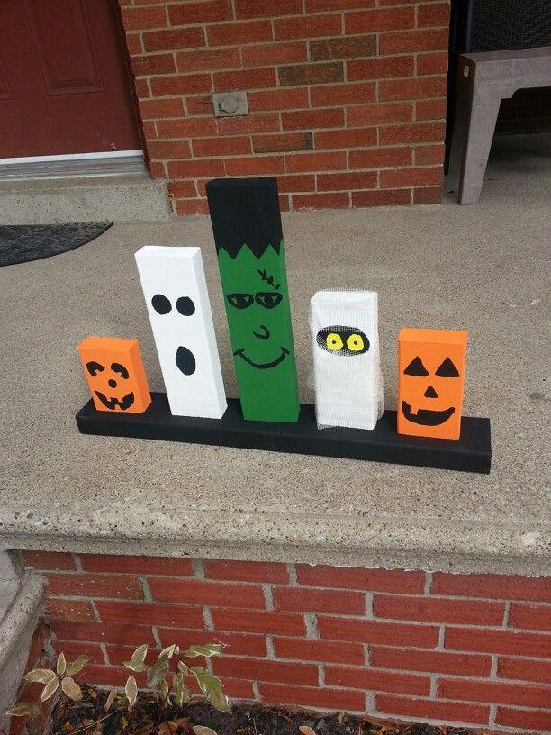 Easy to make halloween decor Pintrest ideas I\u0027ve tried Pinterest - halloween homemade decoration ideas