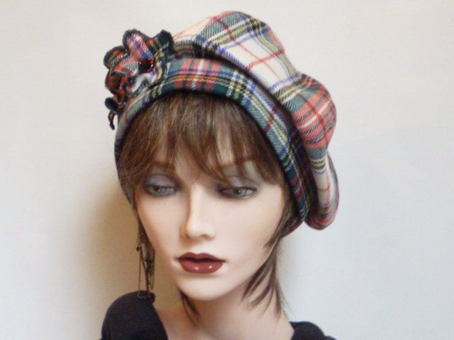 Scottish Tartan Hat on Etsy