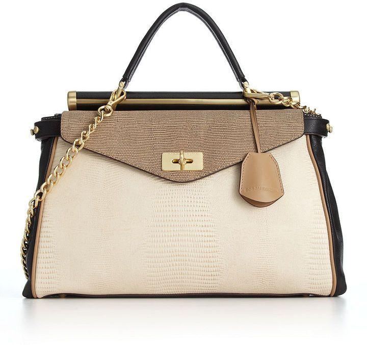 Bcbg Max Azria Handbags Milano Medium Satchel