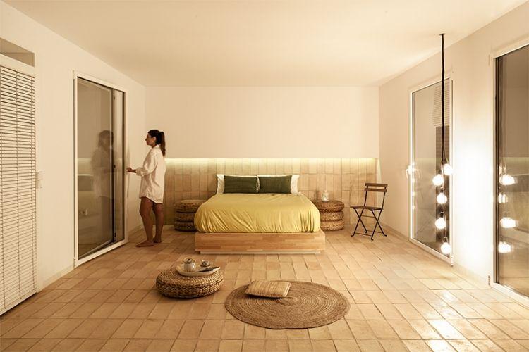 Mediterraner wohnstil trifft auf minimalismus u penthouse in