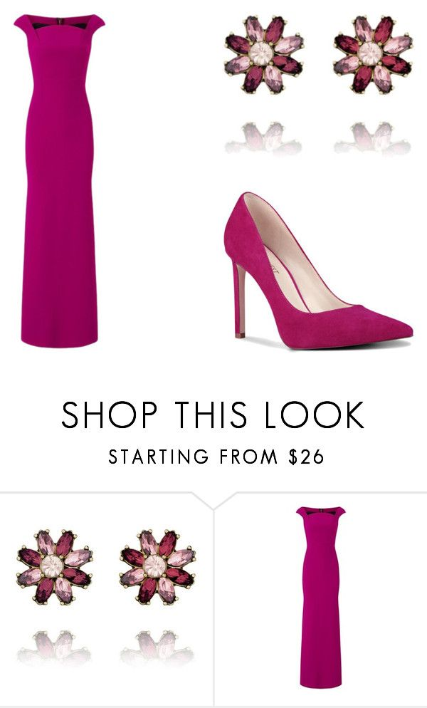 """Color Me Pink"" by lahovis ❤ liked on Polyvore featuring Chloe + Isabel, Roland Mouret and Nine West"