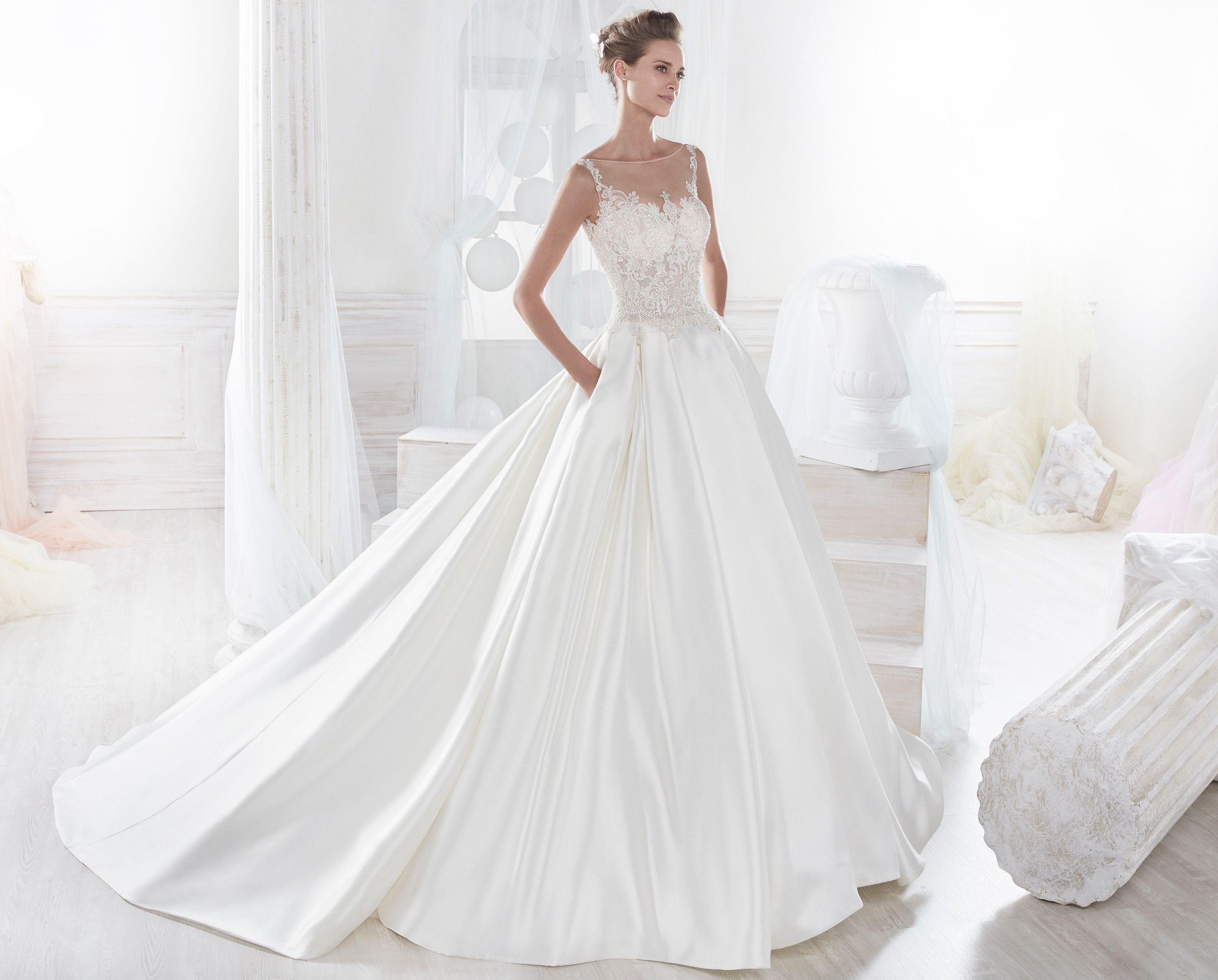 Abiti Da Sposa 2018.Dream Gown Moda Sposa 2018 Collezione Nicole Niab18112 Abito