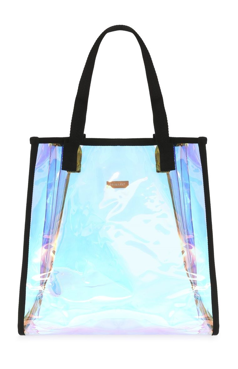 696b886da Primark - Holographic Beach Bag | Holographic in 2019 | Bags ...
