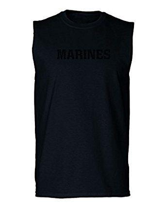 28a42f43 Amazon.com: USMC Marines corp Athletic Military men's Muscle Tank Top  sleeveless t shirt: Clothing