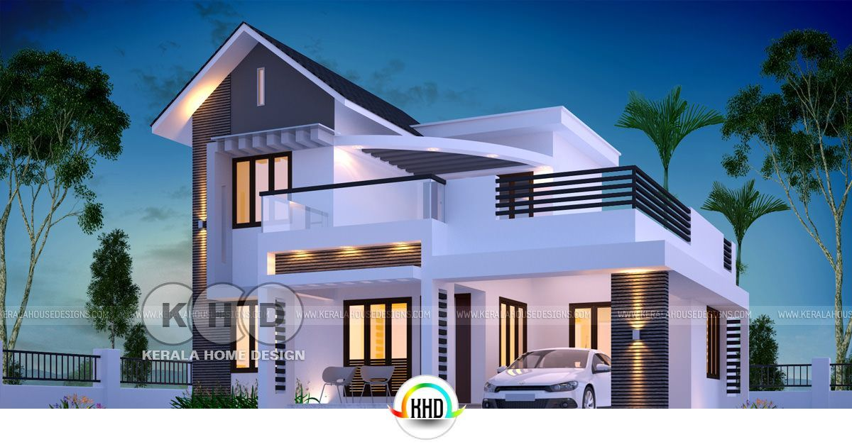 4 Bedroom 1650 Square Feet Budget Friendly House Kerala Home Design Kerala House Design Architectural House Plans Model House Plan