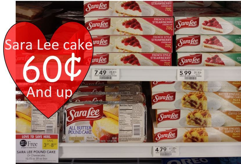 Cheap sara lee products publix as low as 060 exp 5