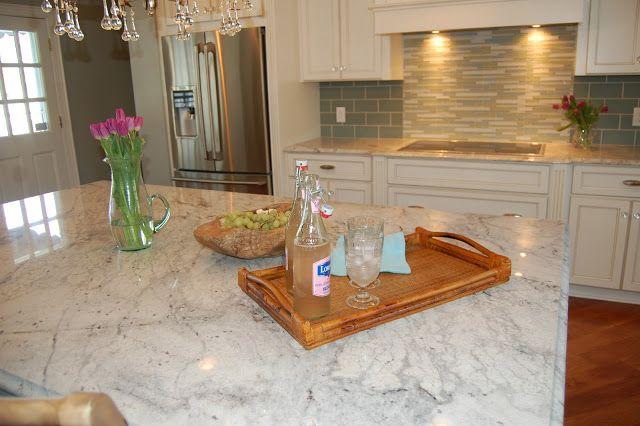Reno Diary The Kitchen Glacier White Granite Lake House