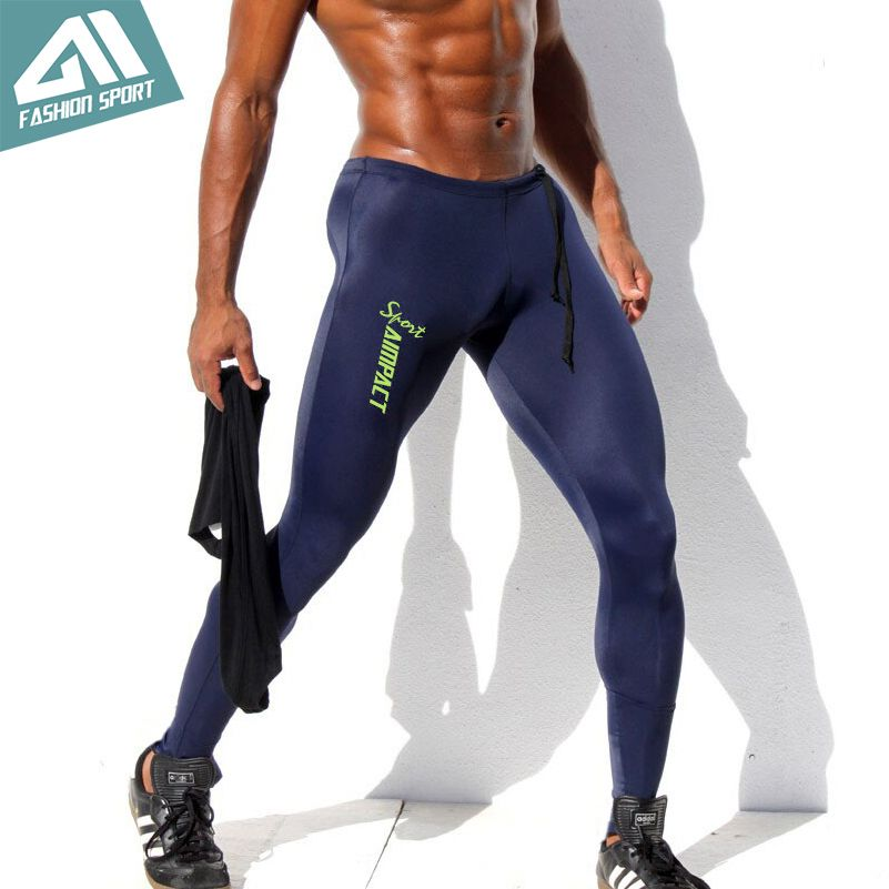 82ea920556b Aimpact Sexy Fashion Skinny Men Sport Pants Athletic Slim Fitted Running Men s  Pants Gym Sexy Tight Causal Sweatpants Any question