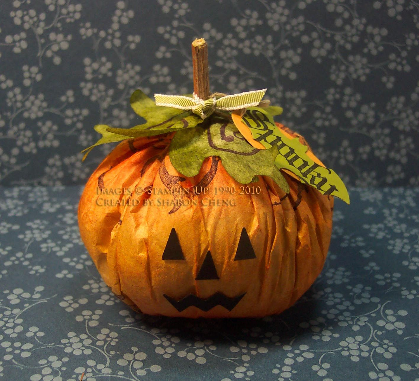 Diy Coffee Filter Pumpkin With Images Pumpkin