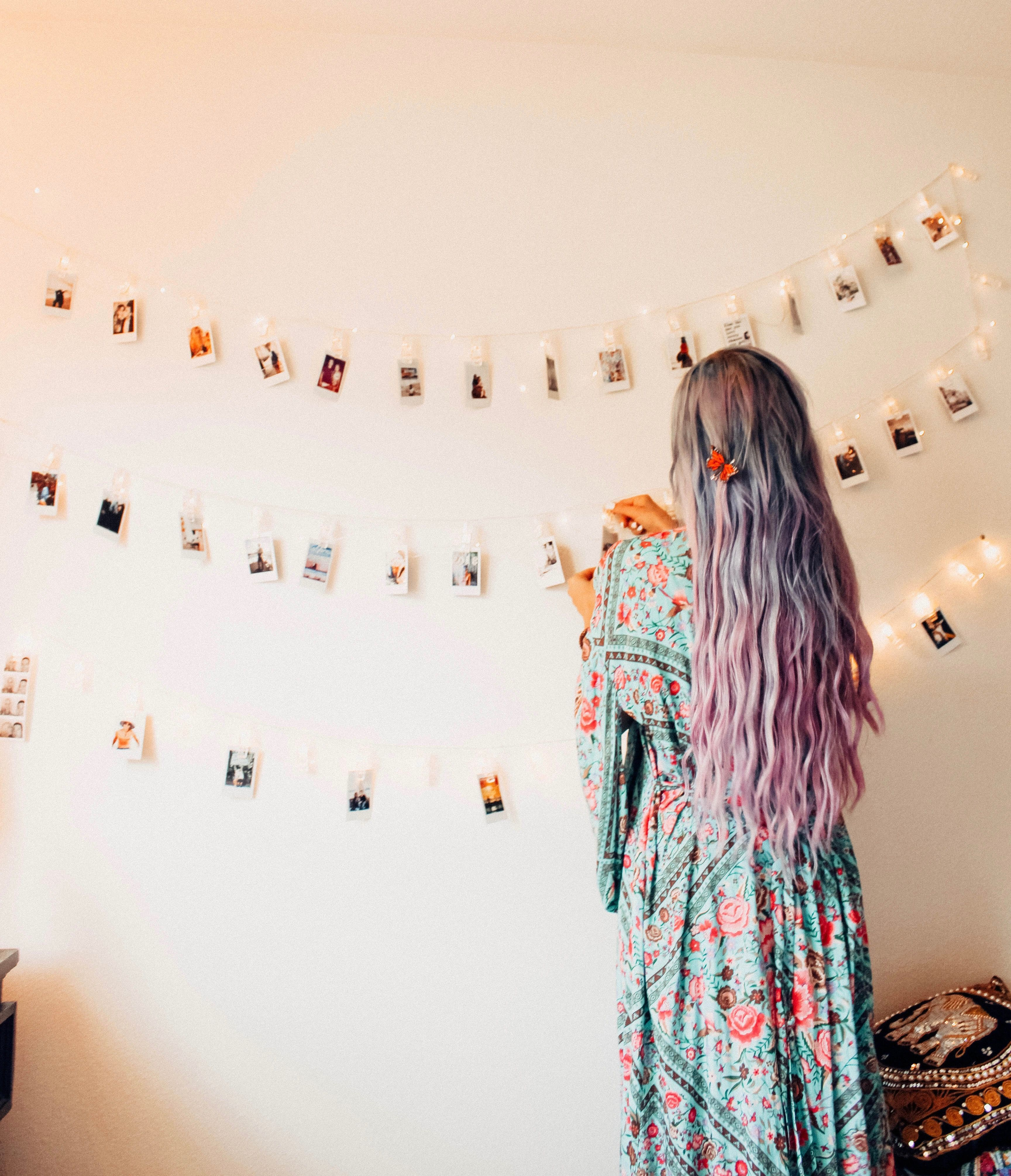 Wall Sconces Urban Outfitters: Polaroid Clip String Lights
