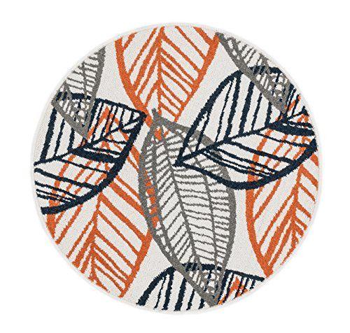 loloi rugs terchtc17ivor300r terrace indoor/outdoor round area rug