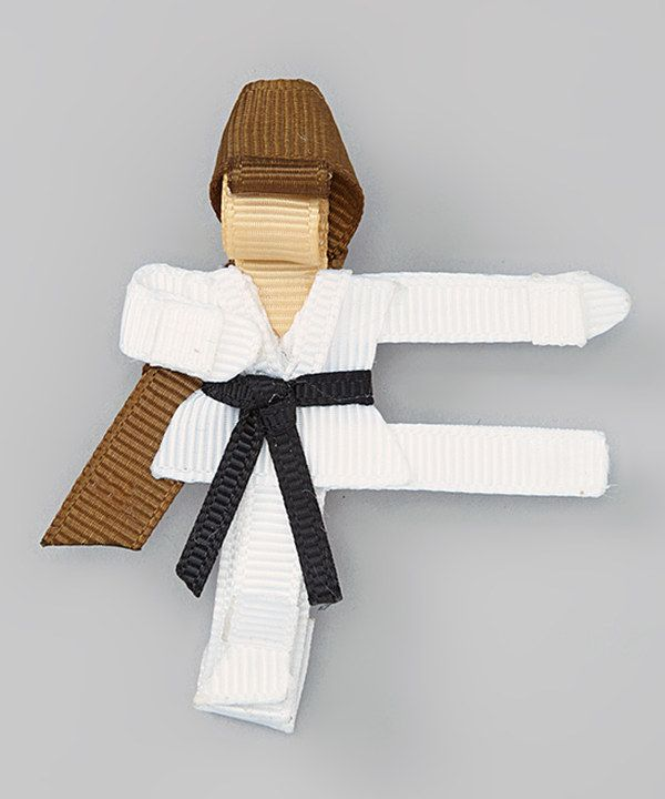 Take a look at this Brown-Haired Girl Karate Clip on zulily today!