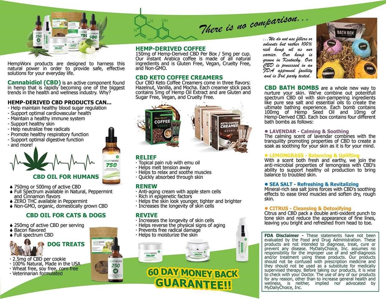 Hempworx Products Best Cbd Available