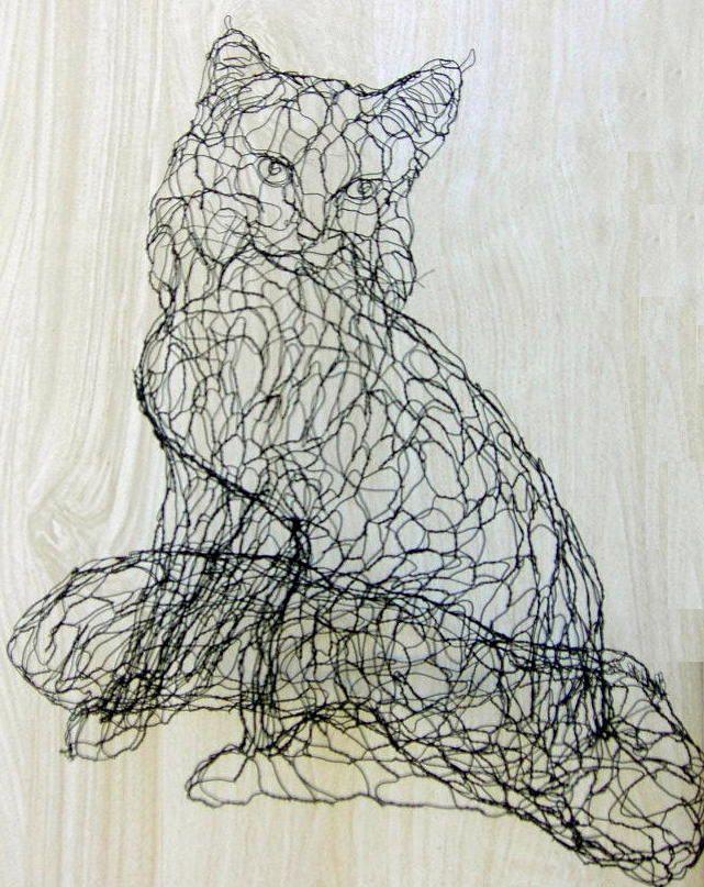chicken wire art - Google Search | Chicken Wire Art ...