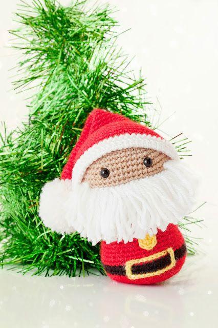 Amigurumi Papa Noel Santa Claus ~ Patrón Gratis en Español | Crochet ...