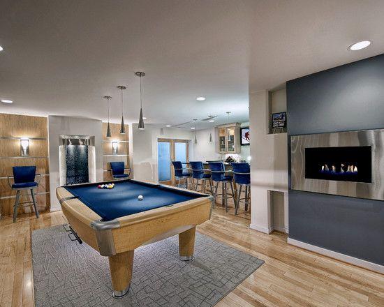 Loft Ideas Upstairs Pool Table