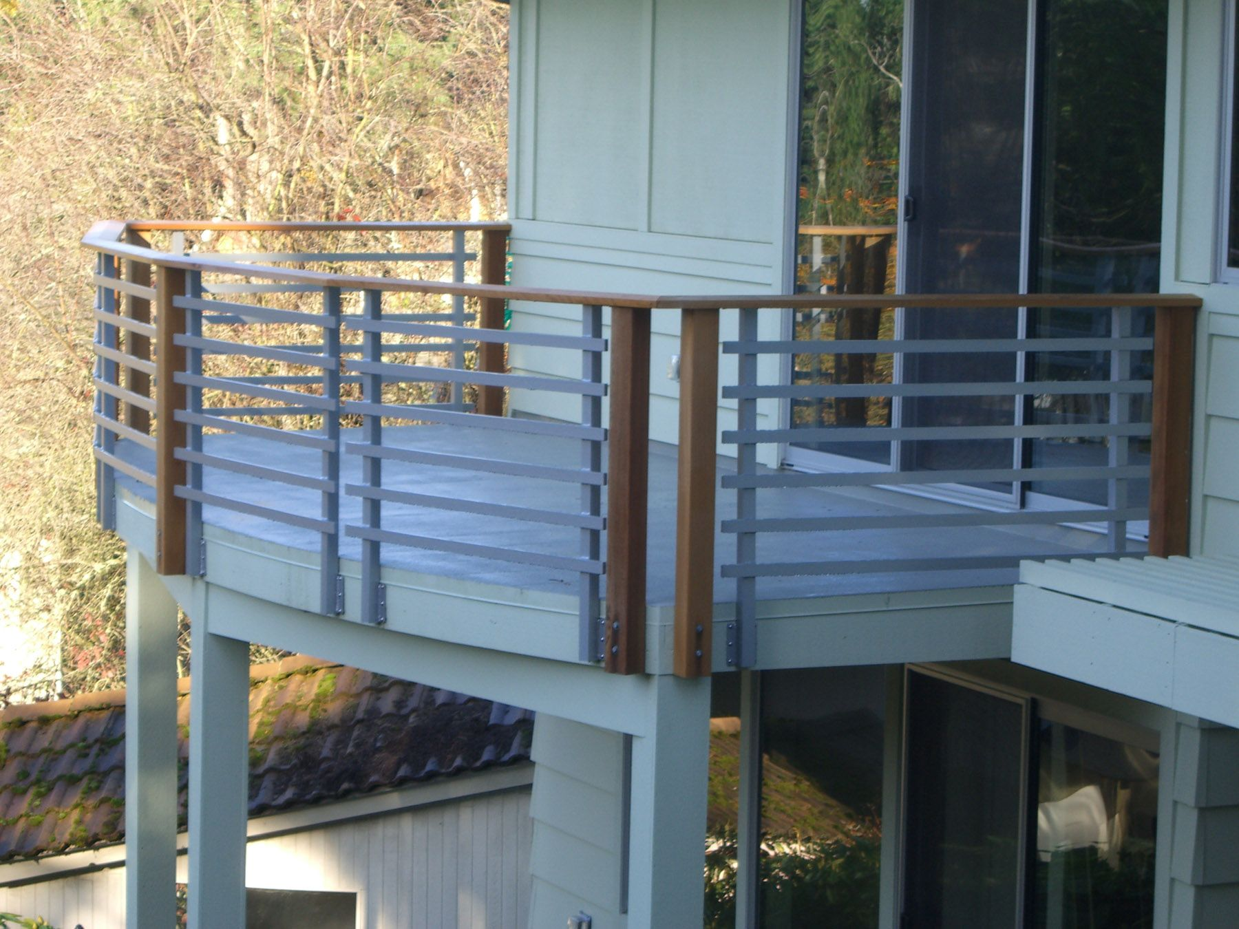 Pin by Cloud's Custom Fabrication on Guardrails   Modern ...