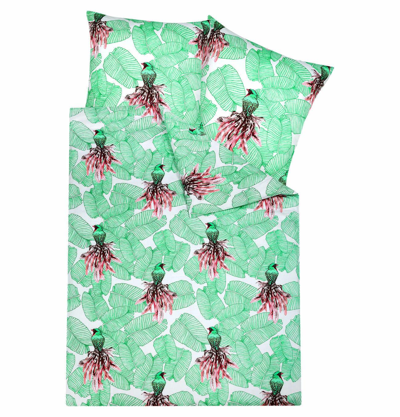 Diese Coole Bettwäsche Schreit Nach Sommer Green Bett