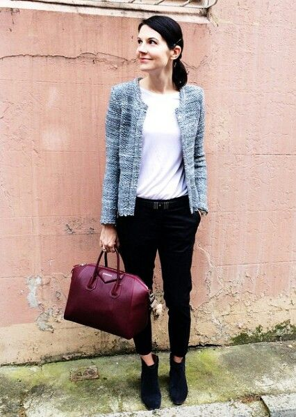 Tweed jacket / work outfit   #style_by_aggie