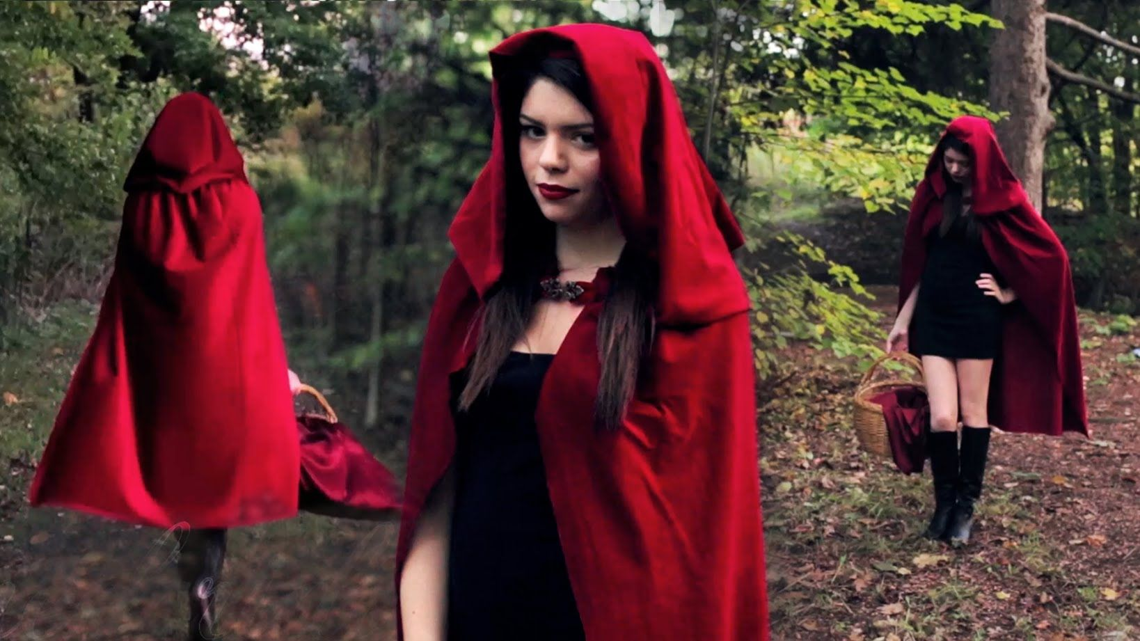 Little Red Riding Hood Https Www Youtube Com Watch V Pmugwdjwxau Feature C4 Overv Red Riding Hood Costume Diy Red Riding Hood Costume Cool Halloween Costumes