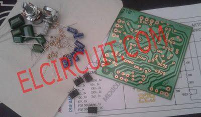 Active Subwoofer Circuit TL082 / TL072 / 4558   Subwoofer ...