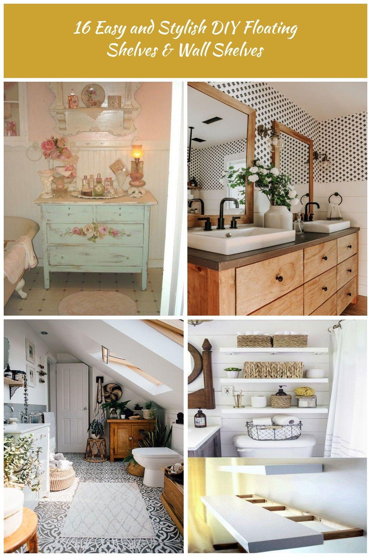 best bathroom decor Floating shelves diy, Bathroom decor