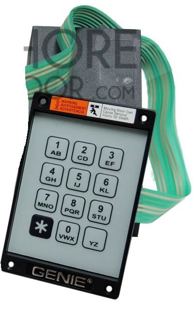Genie Wired Keypad Replacement Numeric Pad Ribbon 22152t New Part 20235r S Stuff To Buy Genies Garage Door Opener