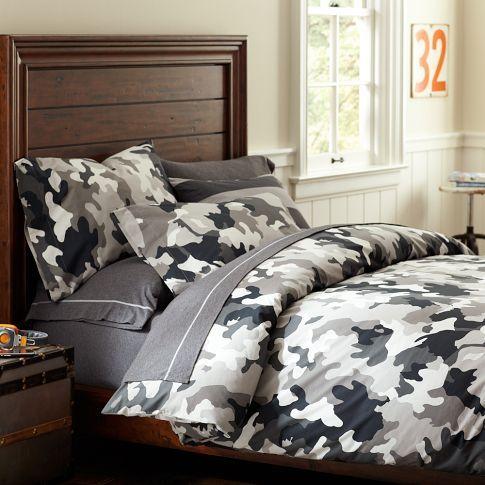 Vintage Camo Duvet Cover Pillowcases Mens Room Decor Boys Bedroom Furniture Camo Furniture