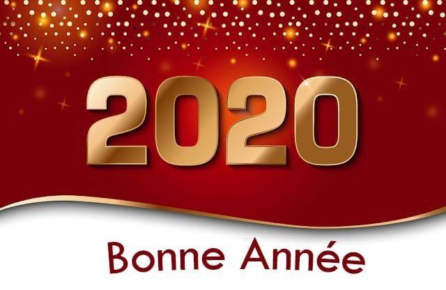 30+ Bonne année 2020 Images, Voeux 2020, Humour, Carte De texte #cartebonneannée