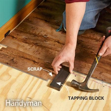 How To Install Luxury Vinyl Plank Flooring Little House