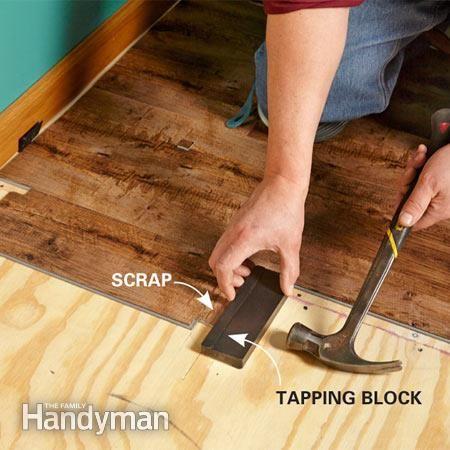 how to install luxury vinyl flooring