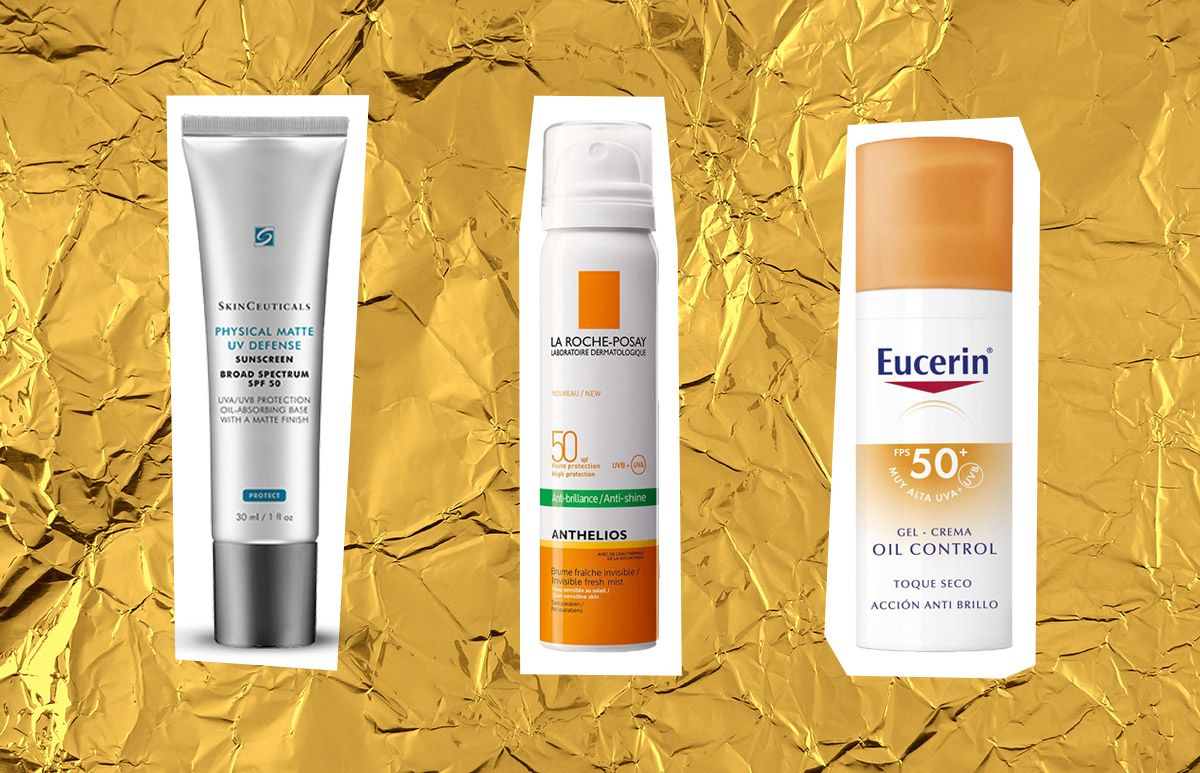 Los 5 Mejores Protectores Solares Para Piel Grasa Elle Piel Grasa Mejor Protector Solar Maquillaje Para Piel Grasa