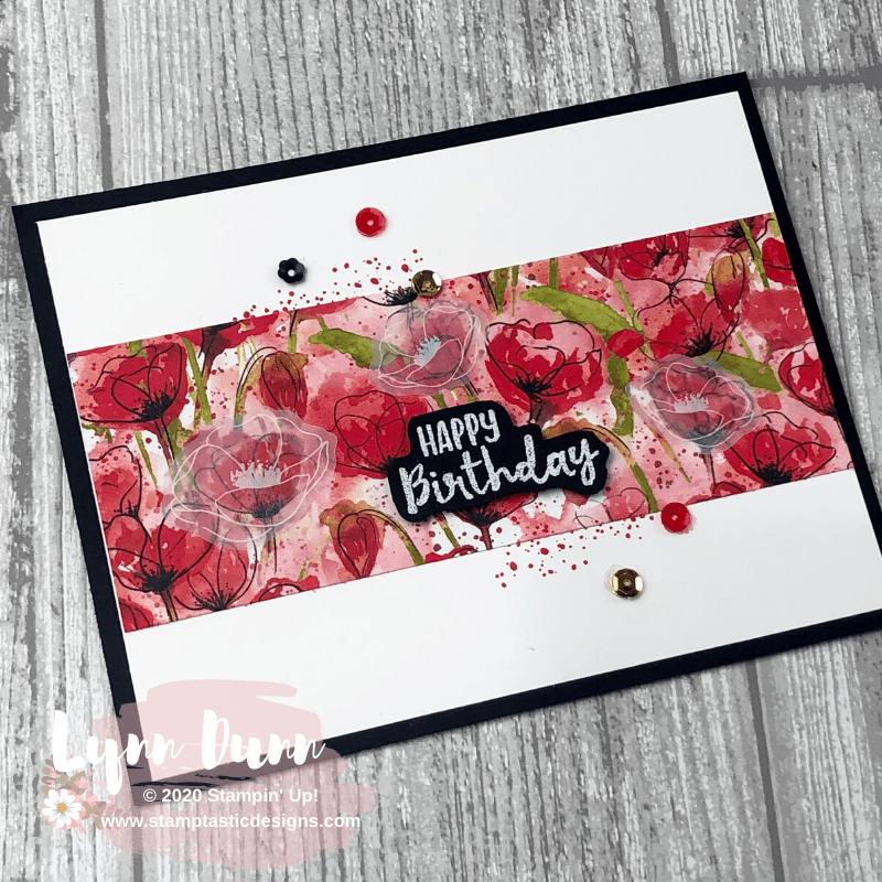 Peaceful Poppies - 6 Simple Card Ideas | Lynn Dunn