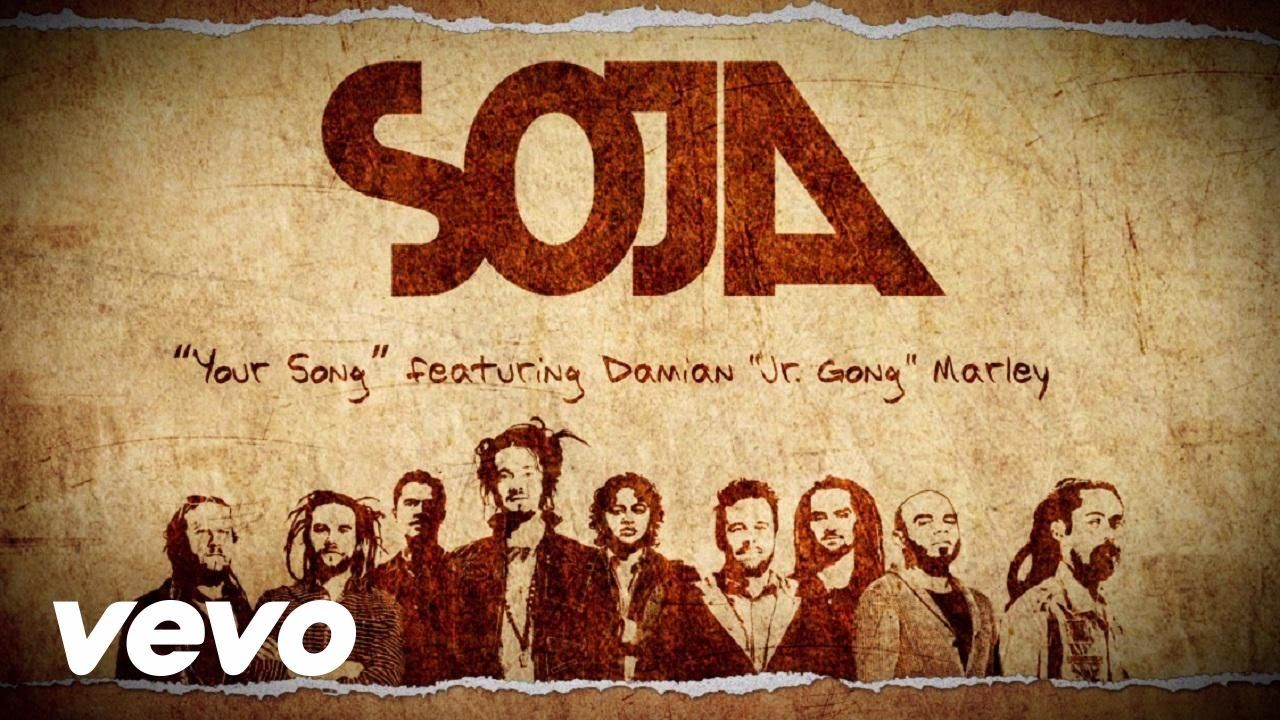 Soja Your Song Lyric Video Ft Damian Jr Gong Marley Music Videos Vevo Songs Marley