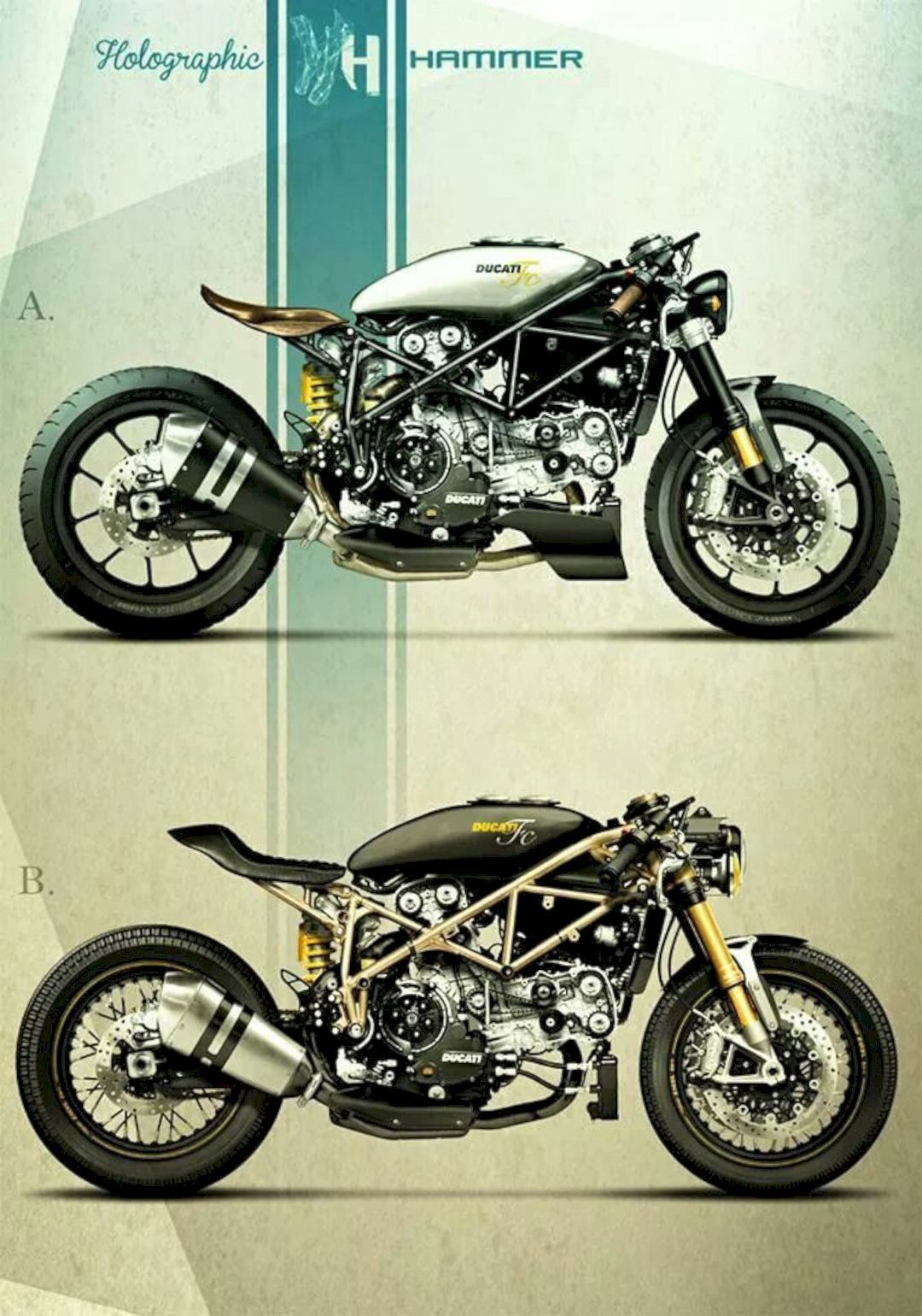 2020 Harley Davidson Low Rider S A Blacked Out Factory Custom Performance Cruiser Ducati Cafe Racer Ducati Motorcycles Cafe Racer Bikes