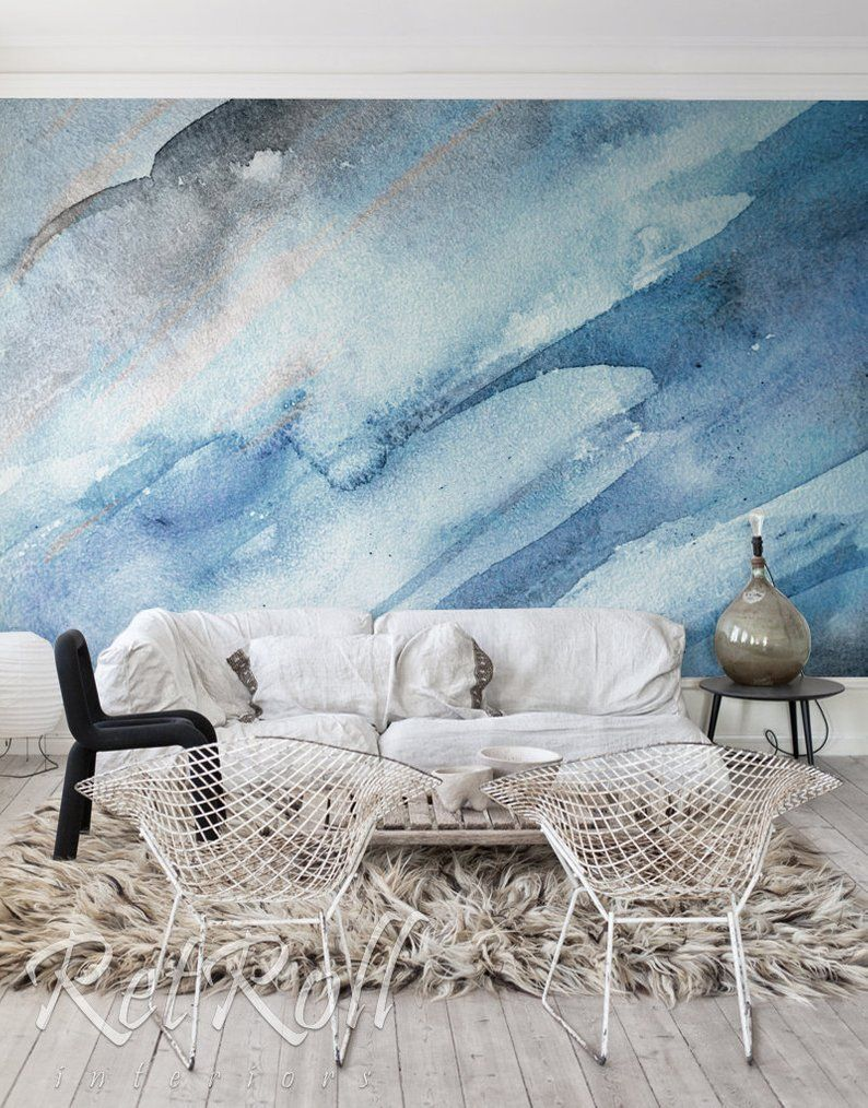 Cold Splash removable wallpaper mural ...