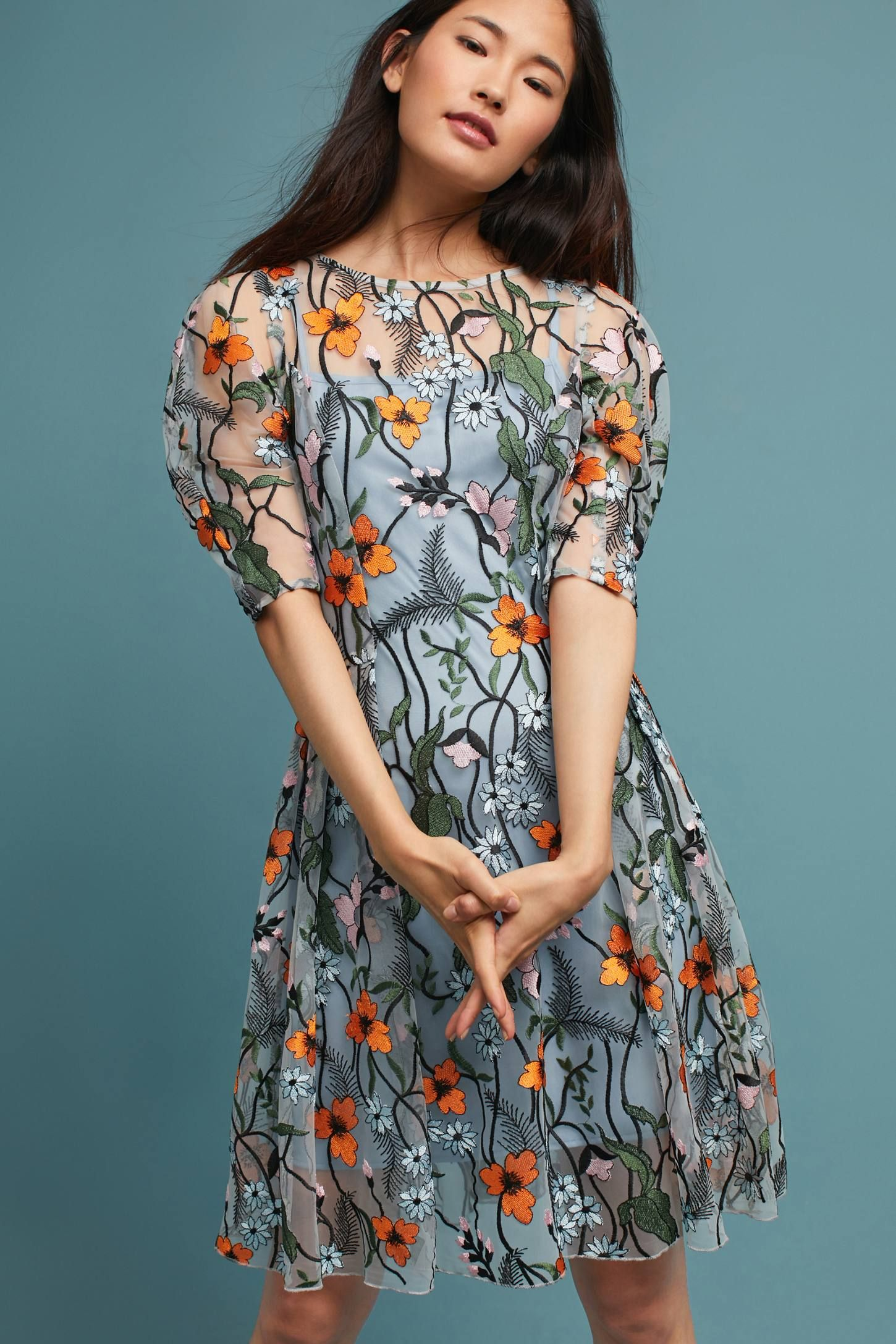 4ef2802adca21 Shop the Aida Embroidered Dress and more Anthropologie at Anthropologie  today. Read customer reviews, discover product details and more.