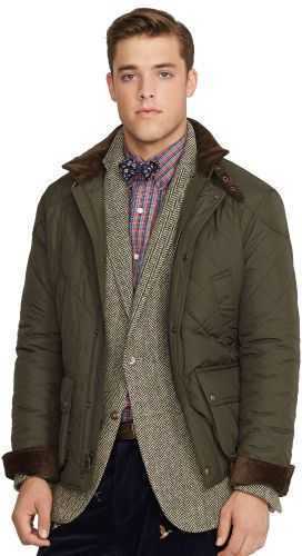 Polo Ralph Lauren Cadwell Quilted Bomber Jacket Grand Design Mens