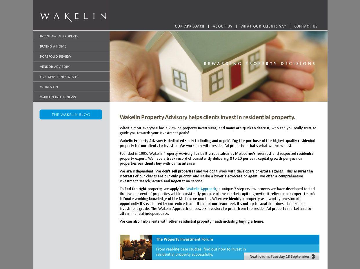 Wakelin: Web Development, Web design, Blog Function