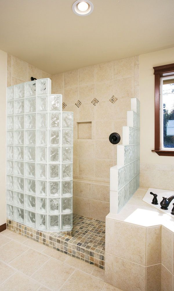 Glass block windows & shower wall pictures, images, photo gallery ...