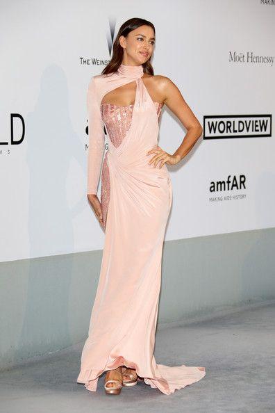 Irina Shayk Evening Dress | Irina shayk, 30th and Atelier versace
