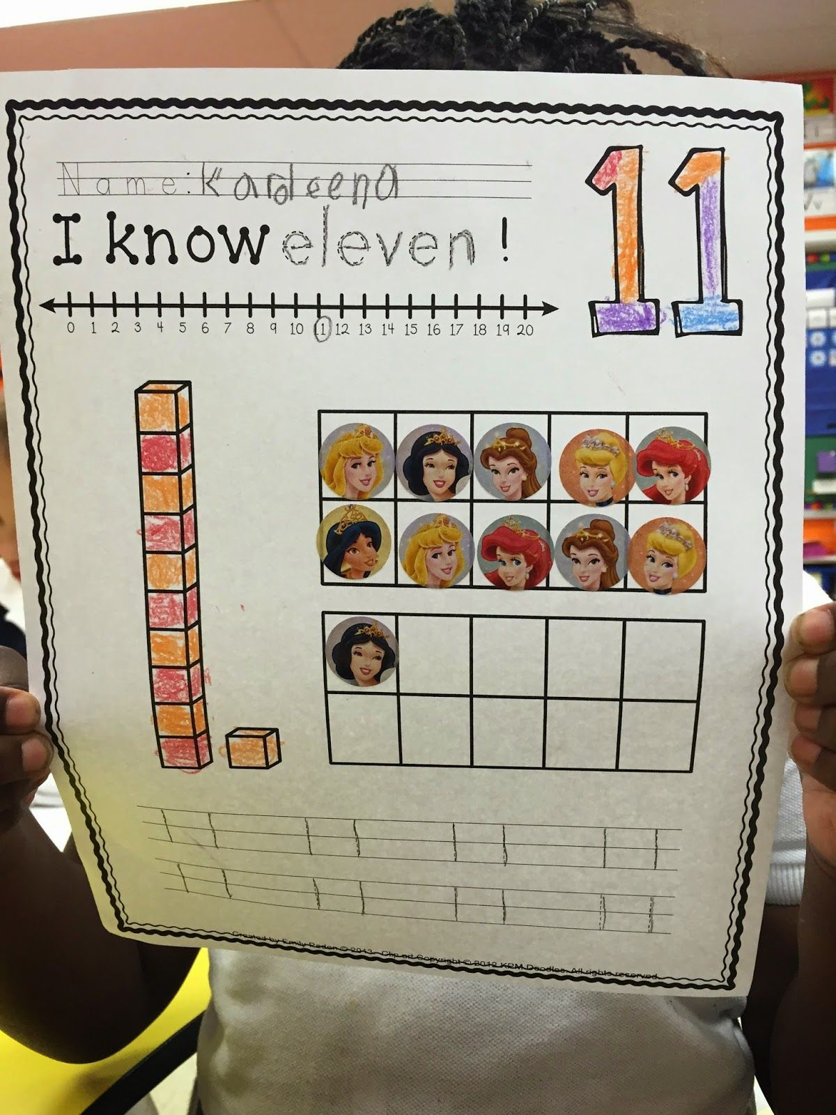 A Neighborhood Kindergarten Place Value In Kindergarten