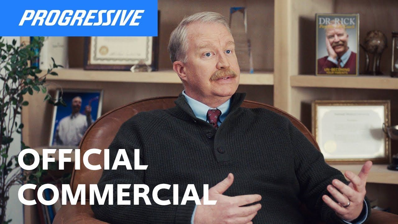 Dr. Rick Pillows Progressive Insurance Commercial