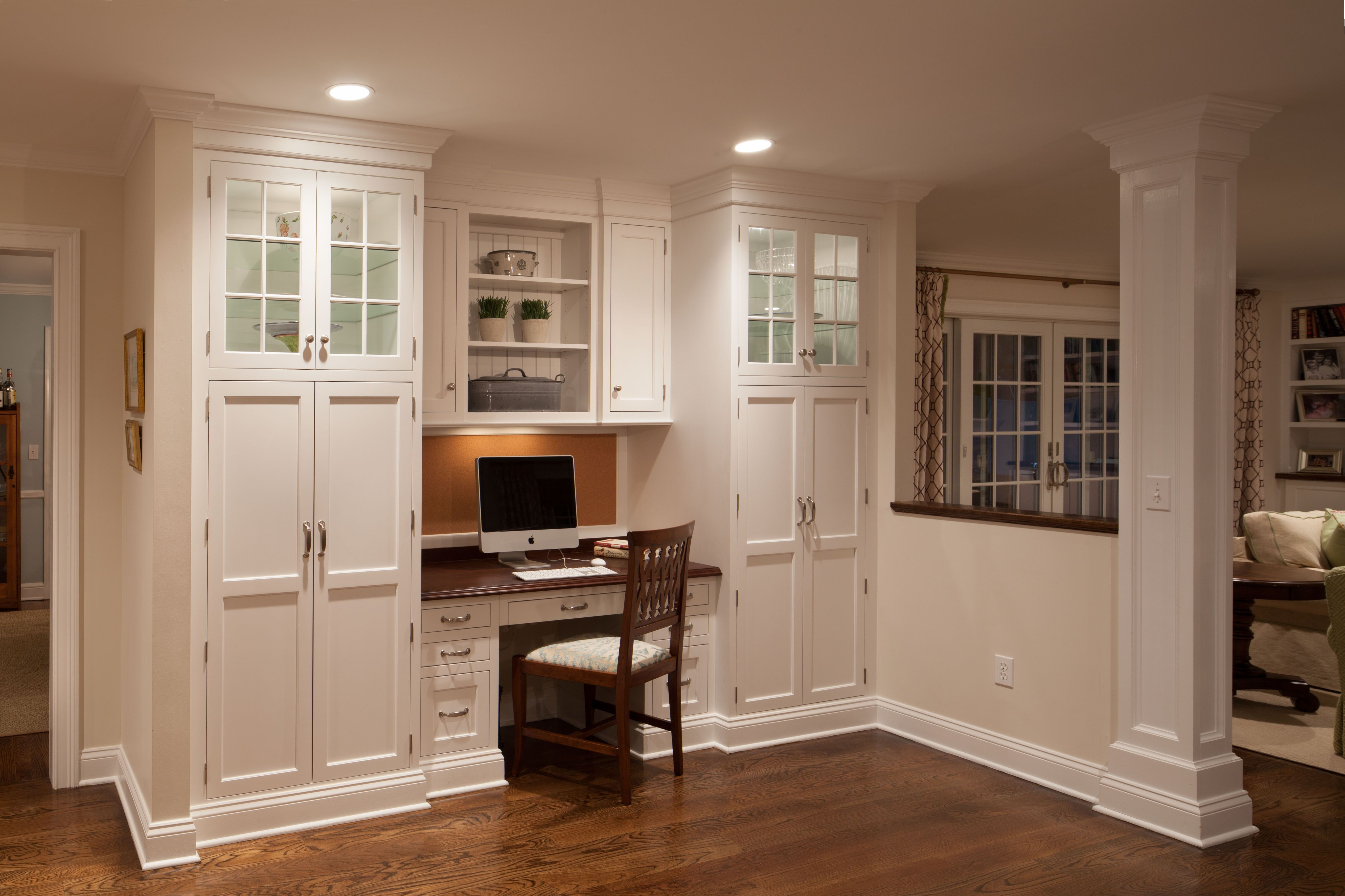 Breathtaking Kitchen Cabinet Desk Ideas Pics Decoration Ideas