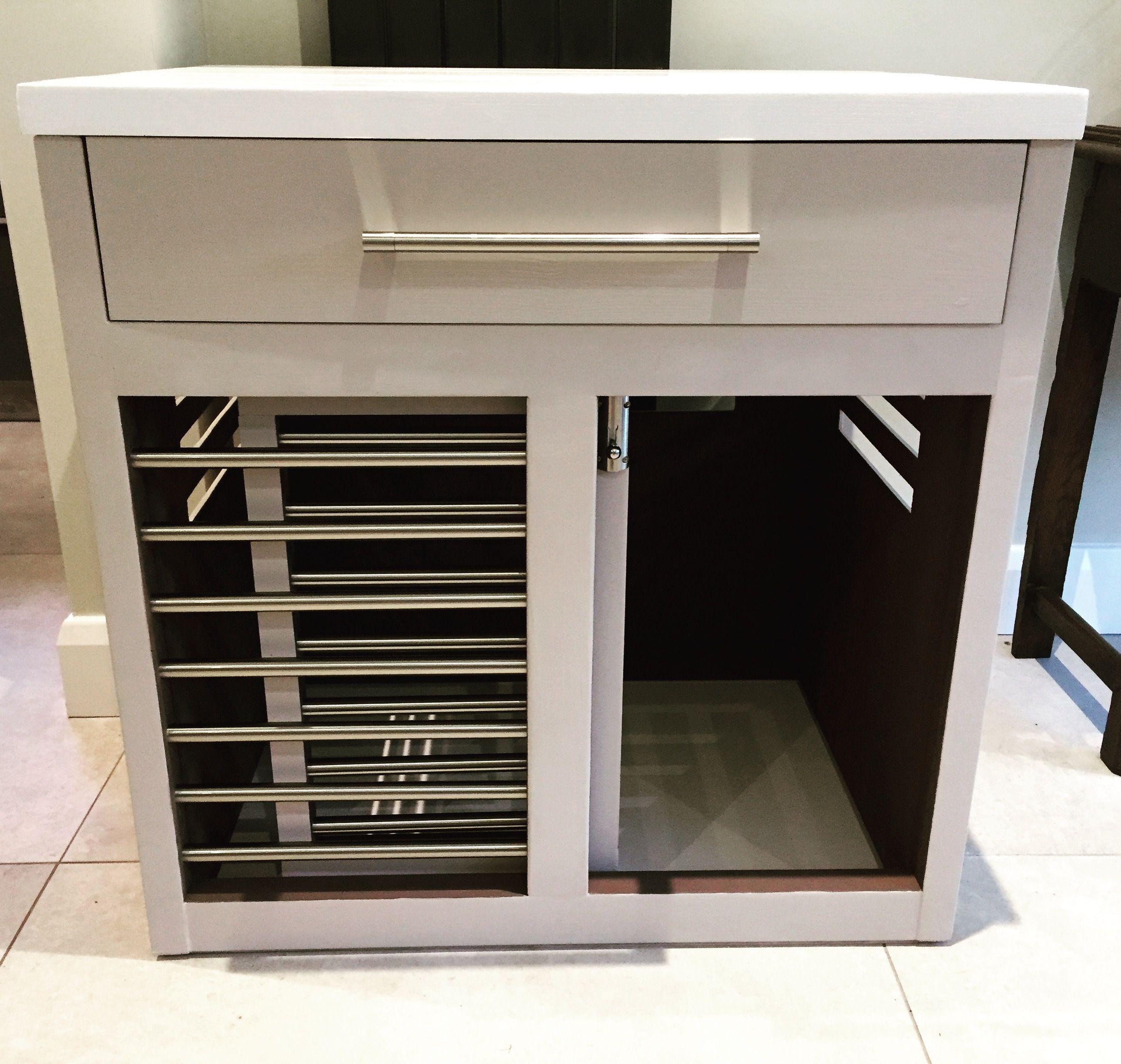 sliding door and treat drawer👌🐾 handmade custom dog crates in  - sliding door and treat drawer👌🐾 handmade custom dog crates in the ukvisit us