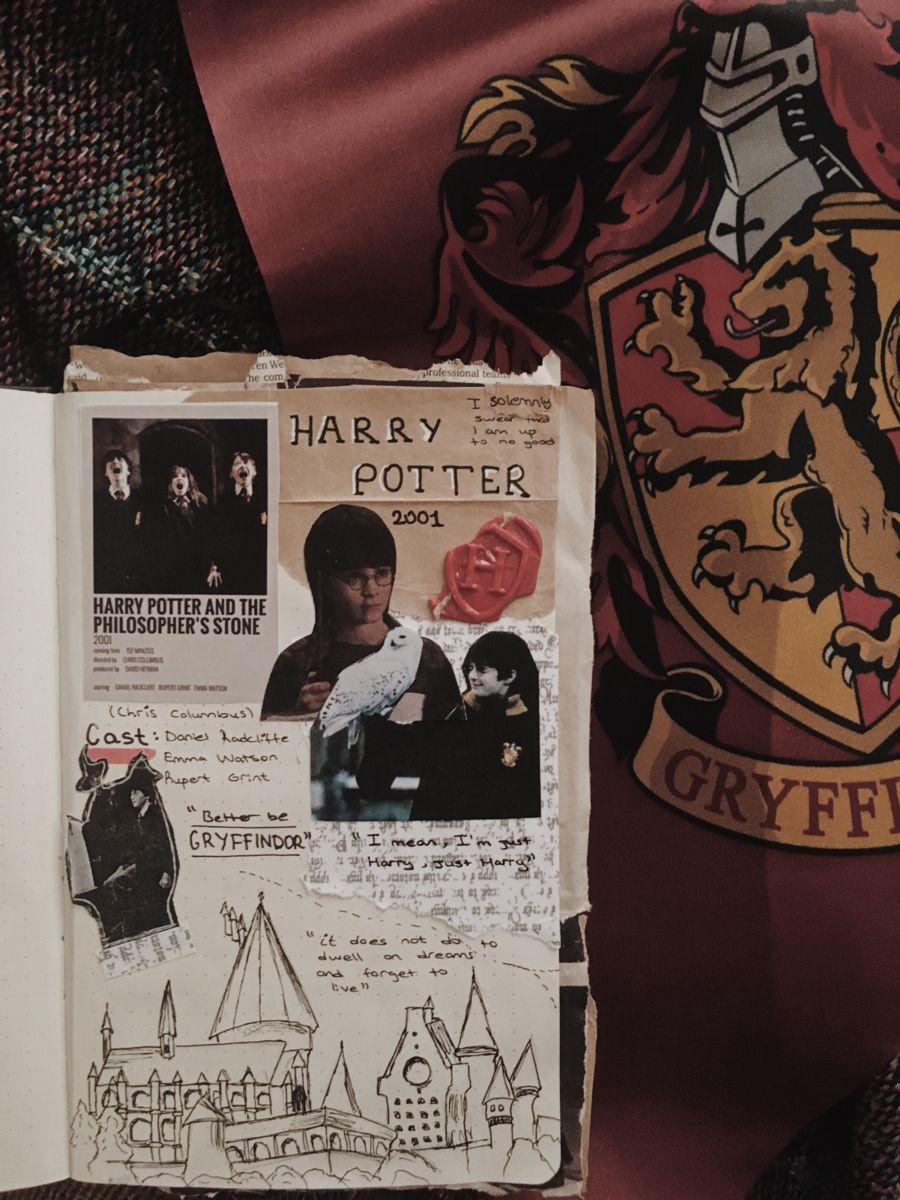 Harry Potter Bullet Journal Books Harry Potter Journal Harry Potter