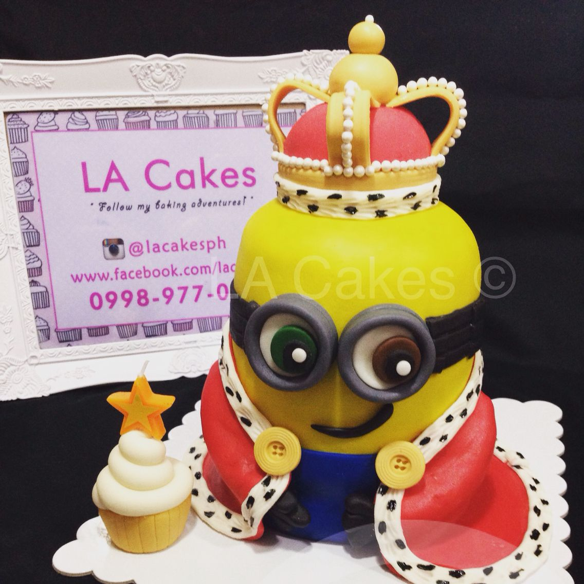 king bob minion cake torten pinterest torten. Black Bedroom Furniture Sets. Home Design Ideas
