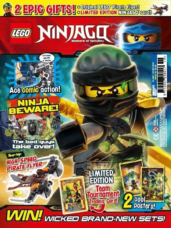 Lego ninjago issue 19 lego ninjago - Lego ninjago team ...